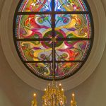 Stained Glass Accent Window by Preston Studios