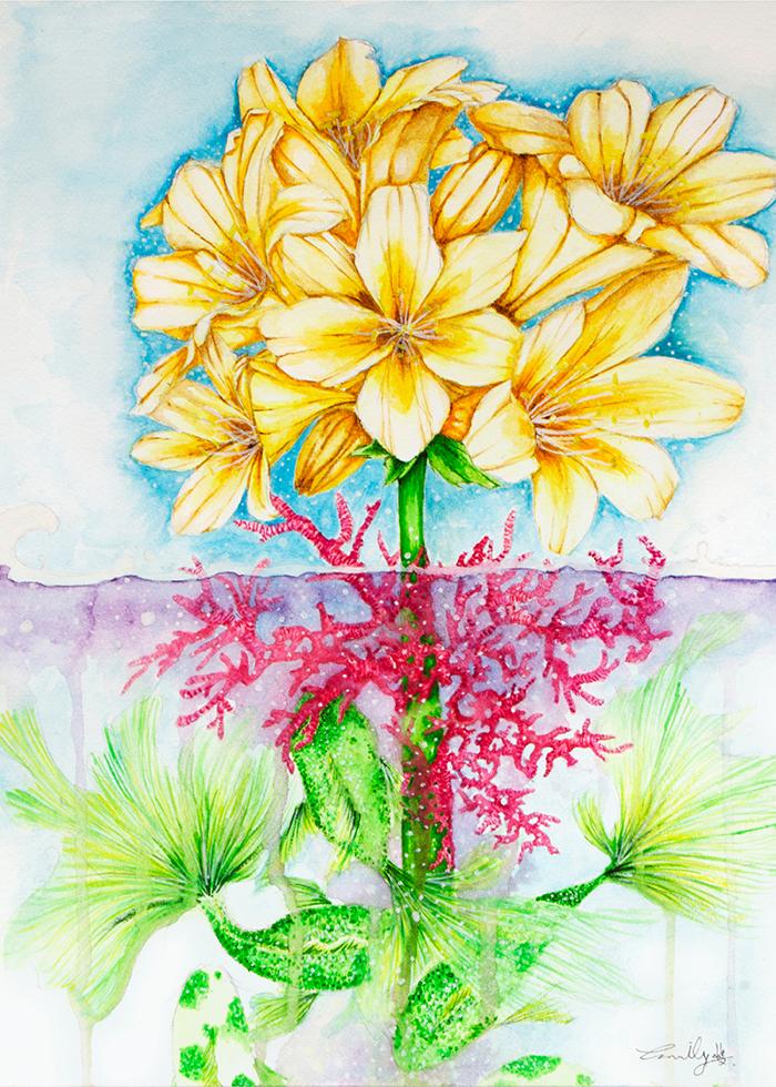 Flower Displate