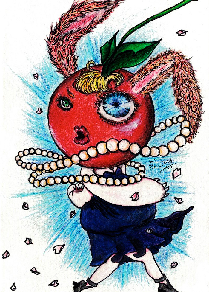Miss Cherry Bunny by Emily L
