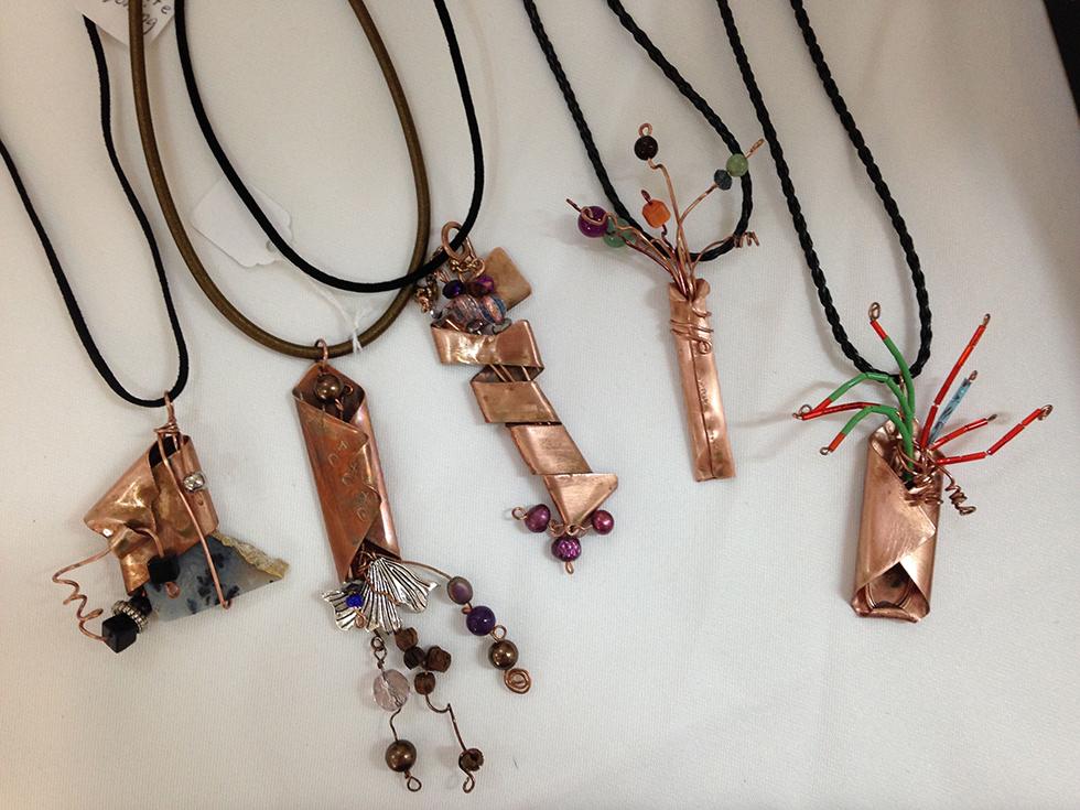 Beverly Morgan Copper Jewelry